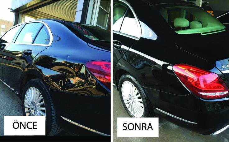 Mercedes boyasız göçük düzeltme uygulamamız  #otopars #boyasız #göçük #düzeltme