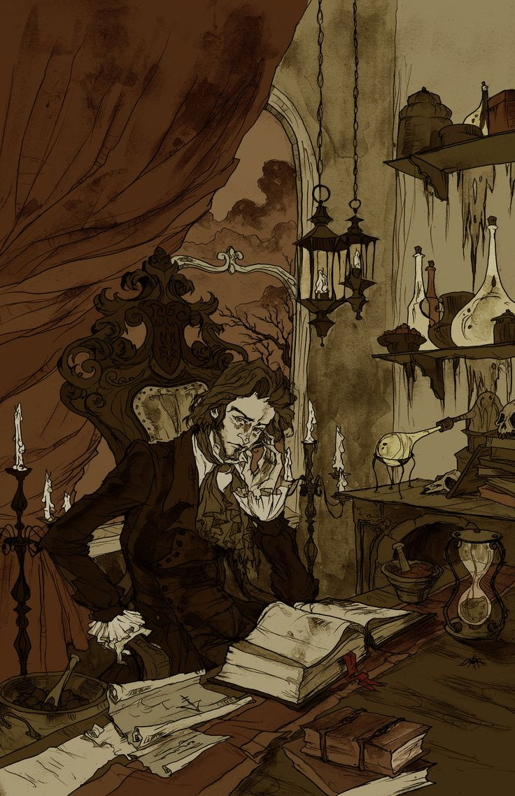 The Alchemist by AbigailLarson.deviantart.com  (whoever this Abigail Larson is I need to meet her!)