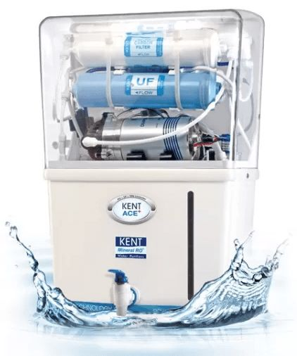 Kent Ace+ 7 L RO + UF Water Purifier (White, Blue)