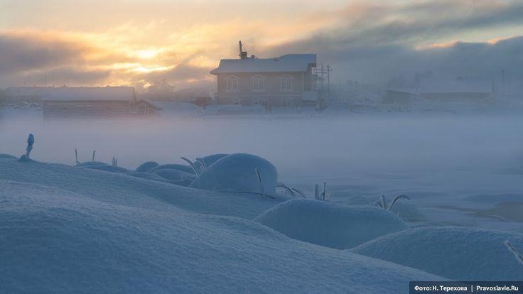 Соловки зимой.  Фото: Надежда Терехова / Православие.Ru