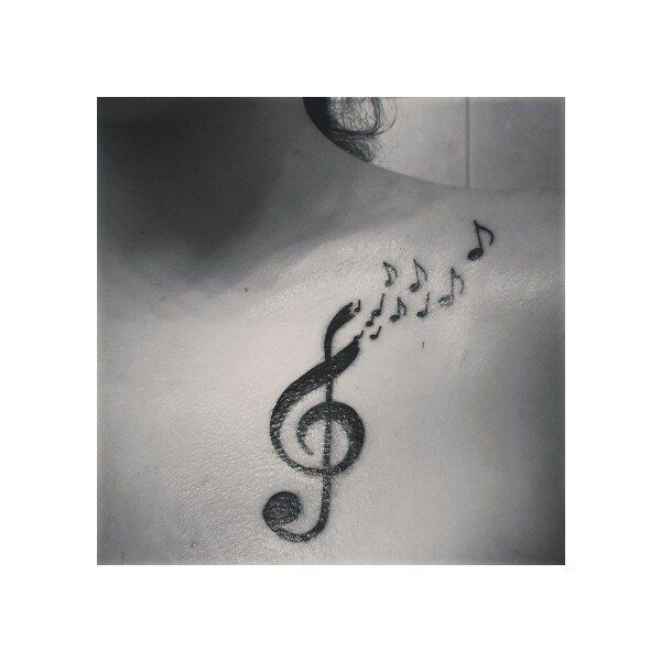26 Inspiring Tattoos All Music Lovers Will Appreciate ❤ liked on Polyvore featuring accessories and tattoo