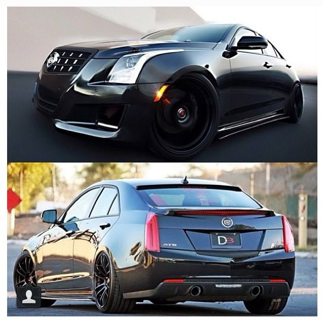 Custom Cadillac Ats: Pictures, Cars And