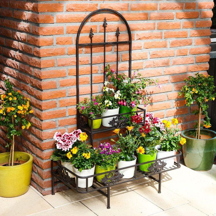 die besten 10 ideen zu blumentreppe auf pinterest garden types regenschutz balkon und tier online. Black Bedroom Furniture Sets. Home Design Ideas