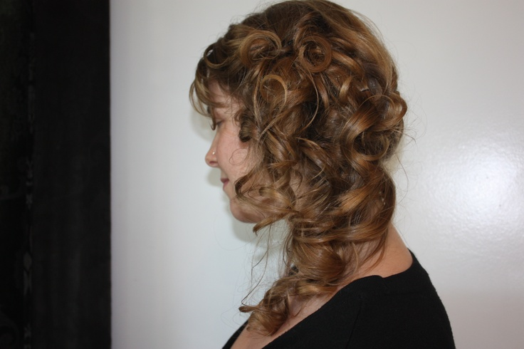 Style done by Alora at La Dolcevita Day Spa and Salon