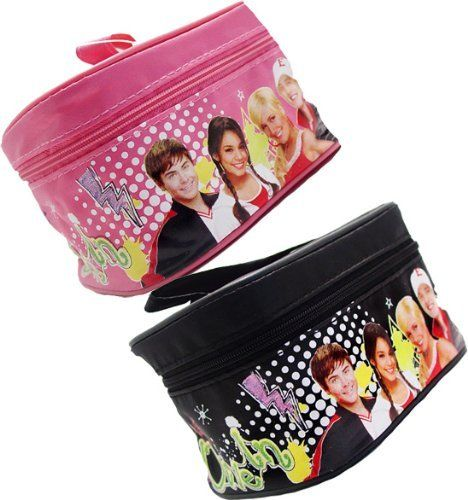 """Disney High School Musical I Love Troy Small Cosmetic Make Up Bag, One Color Will Be Selected Randomly by Colorful Items. $5.99. Disney High School Musical I Love Troy Small Cosmetic Make Up Bag, One Color Will Be Selected Randomly, Size Approximately 5.5"""" X 3"""" X 3.5"""". Save 70% Off!"""