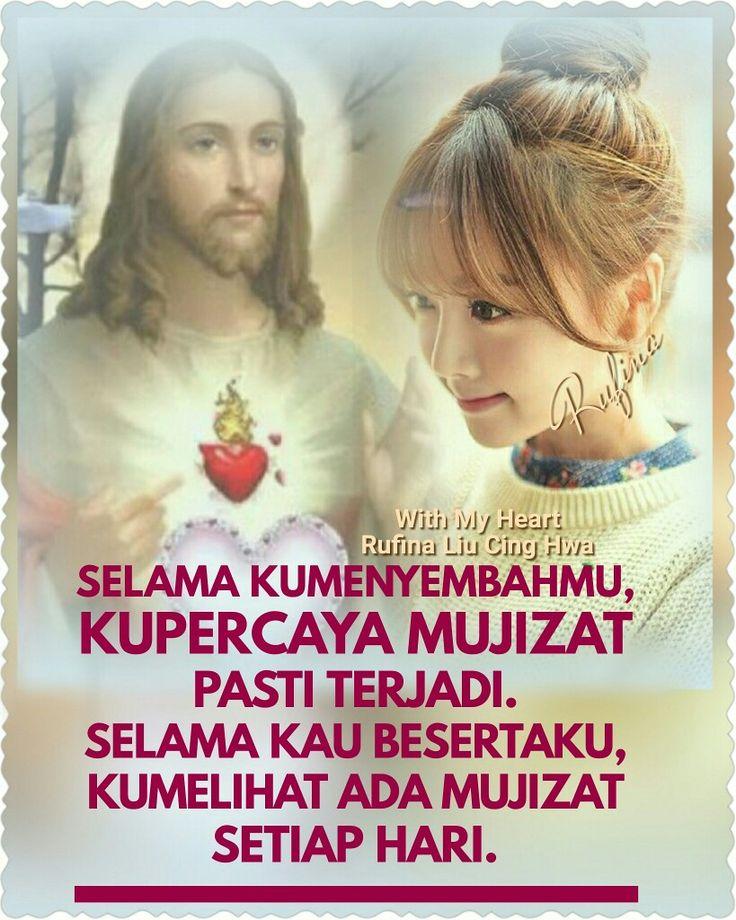 """""""Kita tidak dapat memiliki hidup, lepas dari Yesus Kristus."""" - St. Ignatius dari Antiokhia"""