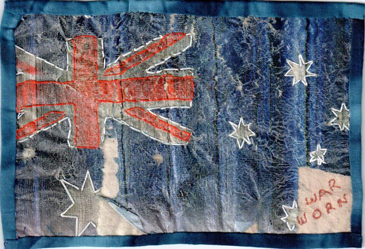 Flags by Jo Malham for 'A room of one's own'