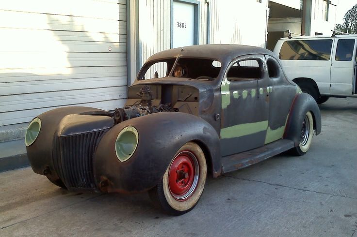Sectioned 1940 Ford 1940 Ford Coupe Chopped Sectioned