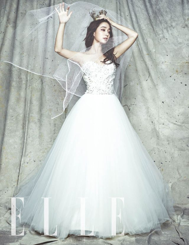 Oh Yeah!!!! Elle Korea Drops More Sweet Wedding Shots Of Lee Byung Hun & Lee Min Jung | Couch Kimchi