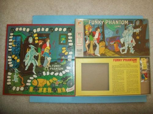 Vintage-1971-The-Funky-Phantom-Game-by-Milton-Bradley-Hanna-Barbera-Show