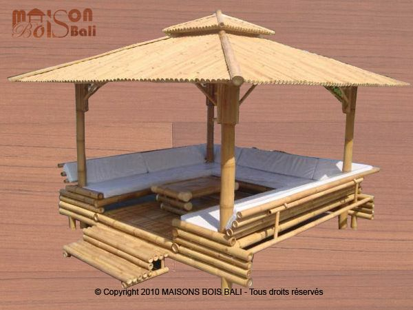 gazebos en bambou 1