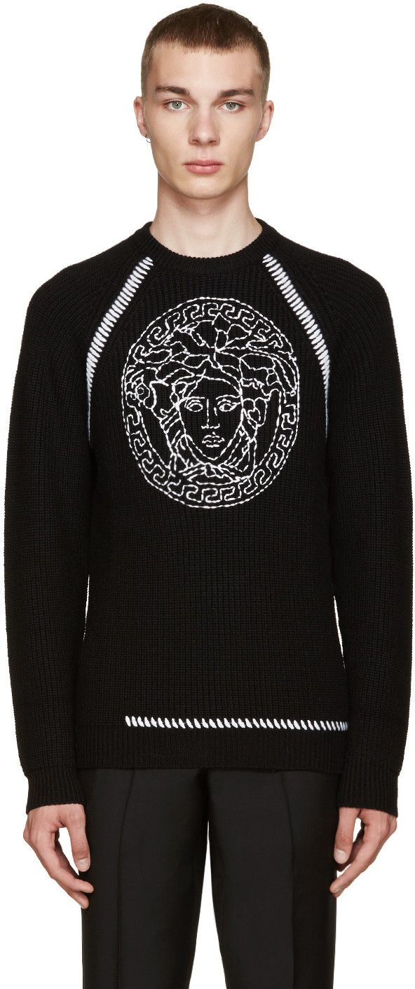 Versace - Black Medusa Sweater