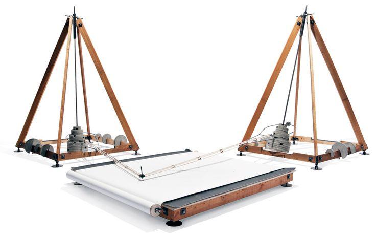 eske rex: drawing machine: Rex Drawingmachin, Drawings Machine, Wooden Machine, Harmonograph Machine, Experimental Drawings, Experiment Drawings, Art Machine
