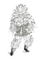 Goku GT Ssj3 by bloodsplach