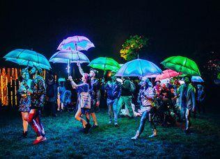 The Umbrella Project - LED Umbrellas | London | UK
