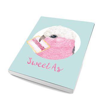 Notebook Pink Gallah