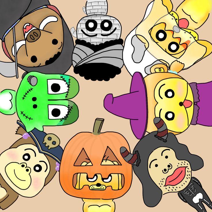 Halloween Party - LiuPay畫画Blog