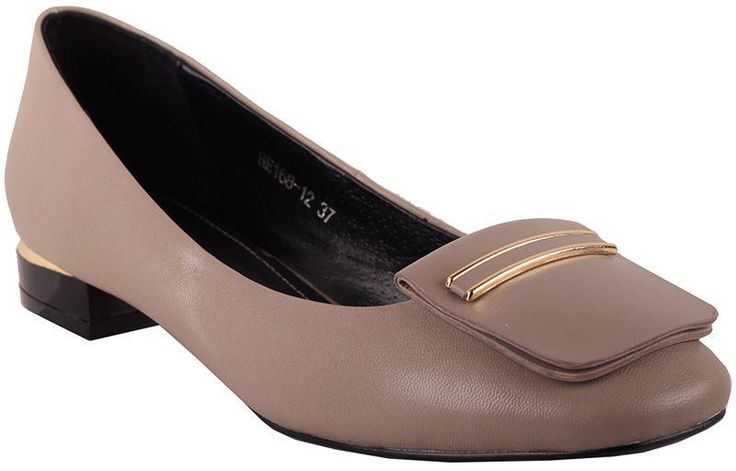 Туфли женские на низком каблуке