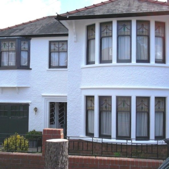 Charming Period Property Cardiff Painted With Exterior Wall Coatings Pictures Gallery