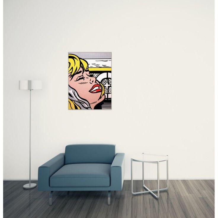 LICHTENSTEIN - Shipboard girl 1965 60x80 cm #artprints #interior #design #art #print #iloveart #followart #artist #fineart #artwit  Scopri Descrizione e Prezzo http://www.artopweb.com/autori/roy-lichtenstein/EC21689