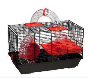 Voltrega 938N Esta jaula grande, muy completa ideal para hámster común. Fabricado en España Fabricado en Europa (España), con pintura epoxi sin plomo y plástico polipropileno, no tóxico. : 8429886020292 Medidas máximas de la jaula (ancho x fondo x...