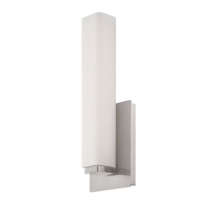 38 best bathroom sconces images on pinterest bathroom sconces modern forms ws 3115 vogue dimmable led bathroom light 15 inches length brushed aloadofball Image collections