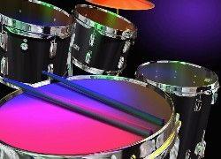 Perkusja, Pałeczki, Bębny
