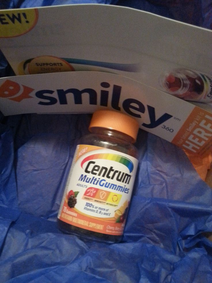 Centrum MultiGummies, FREE from smiley360 just for being willing to give my opinion.  These gummies taste good and don't stick to your teeth. A better way to get your vitamin than some of those nasty pills!