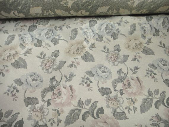 56 Wide Vintage Victorian Style Upholstery Fabric by AnnasDream