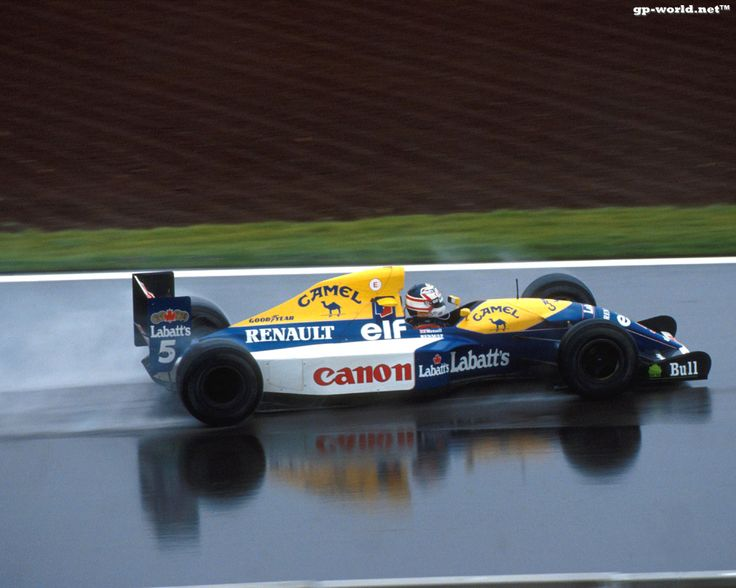 Nigel Mansell, Williams FW14B, 1992