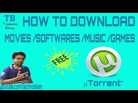 How To Download Movies Using utorrent 2016 [Hindi] - YouTube