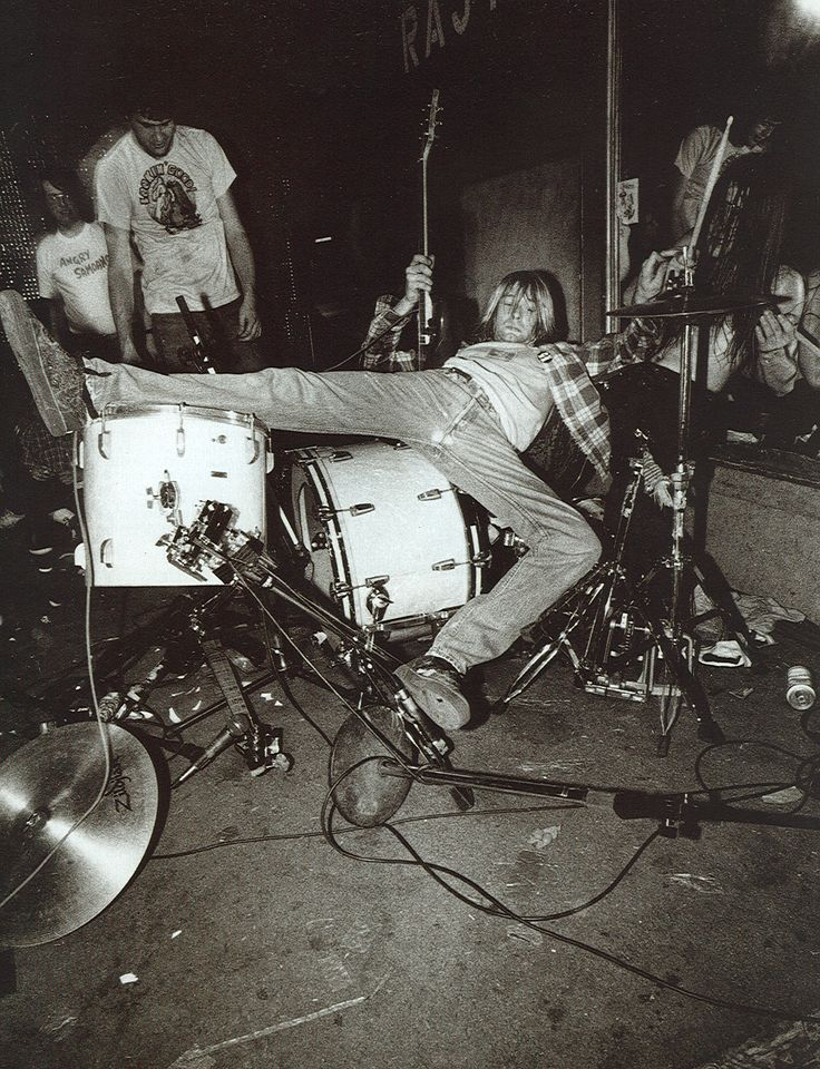 Nirvana...I think this was from Bleach