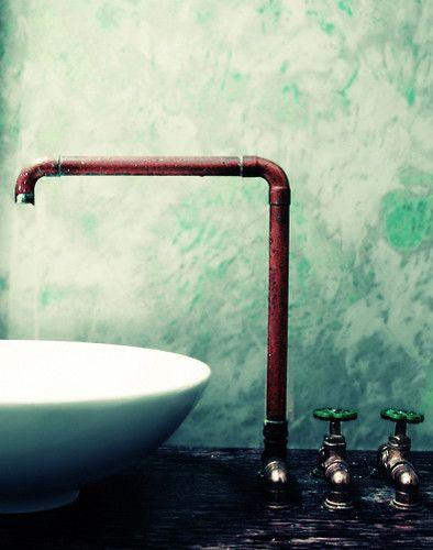 cool industrial sink