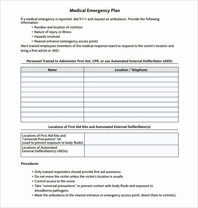 Emergency Care Plan Template from i.pinimg.com