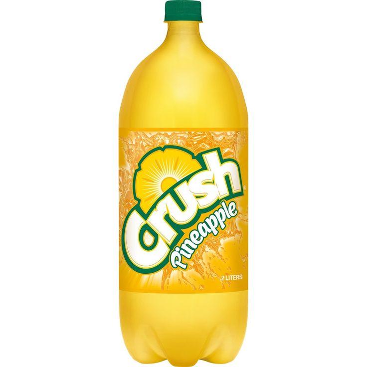 Crush pineapple soda 2 l bottle in 2020 crushed