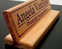 8 Best Laser Engraved Nameplate Images On Pinterest Family Name. Desk Name  Plate ...