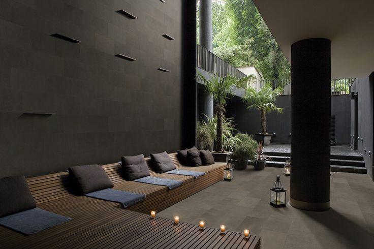 Color Tao brown. #rosagres #tao #outdoorsdesign #gresporcelanico #porcelainstoneware #trend
