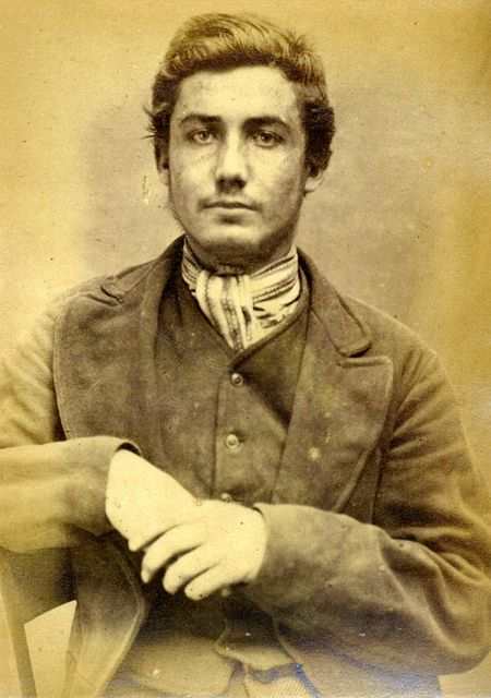 John Allan, 19, prisoner. Stole some money and was sentenced to 6 months at Newcastle City Gaol for his crime. 1871-1873.