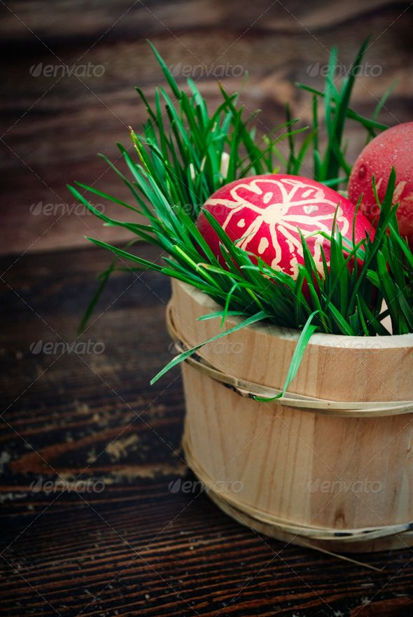 27 best easter gifts ideas images on pinterest easter gift buy easter eggs by hitdelight on photodune red easter eggs in wooden basket with grass negle Image collections