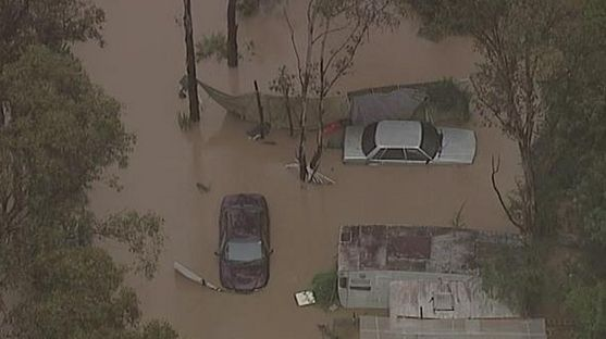 Milperra residents forced to evacuate after Georges River broke its banks