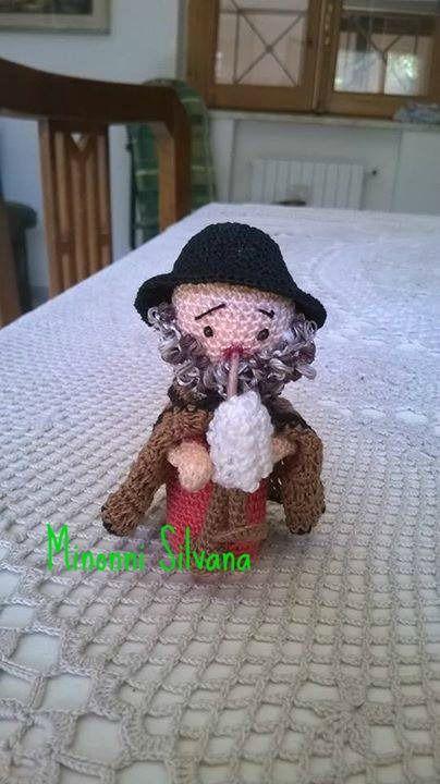 Amigurumi Presepe Uncinetto : lo zampognaro #presepe#crochet #amigurumi#uncinetto ...