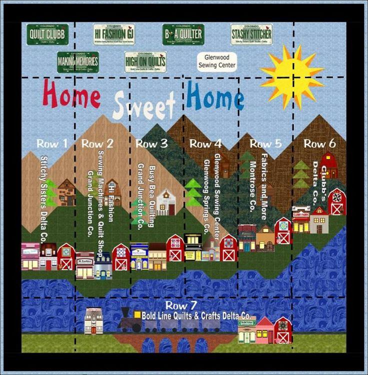 37 best Colorado quilt images on Pinterest | Applique templates ... : colorado quilt shops - Adamdwight.com