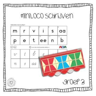 MiniLoco | Schrijfletters