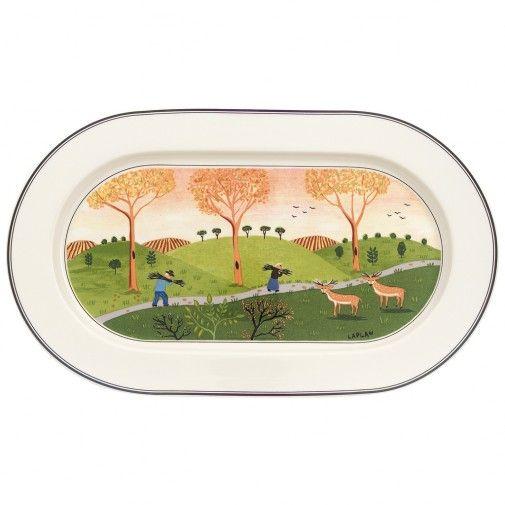 Design Naif Oval Platter 13 in - Villeroy & Boch