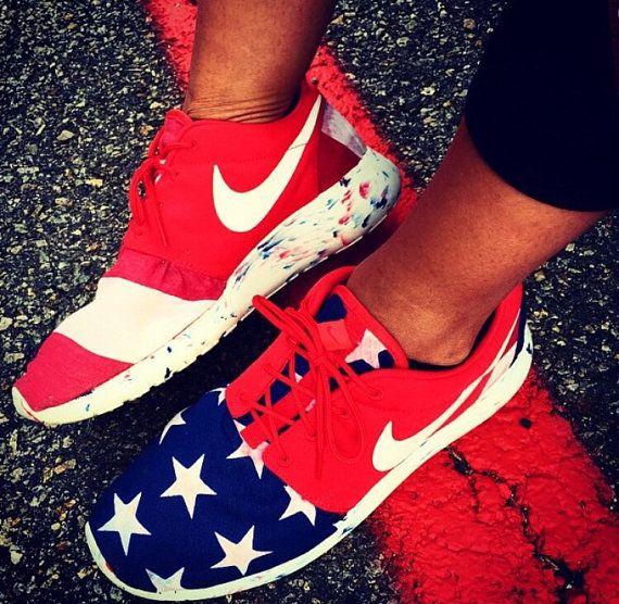 MUST HAVE. Merica Roshe Run Custom