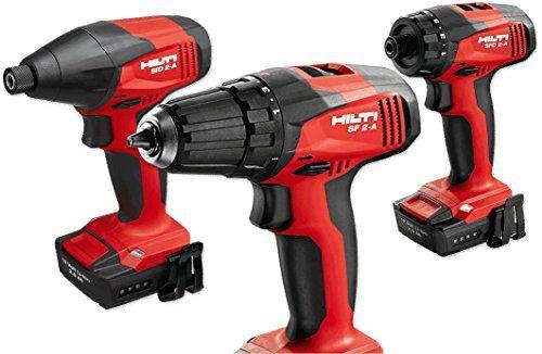 Hilti 3 Tool 12v Lion Promo Kit Impact, Driver, and Drill…