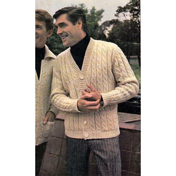 Knitting Patterns For Men s Cardigans : 17 Best images about Knitting Patterns for the Man on ...