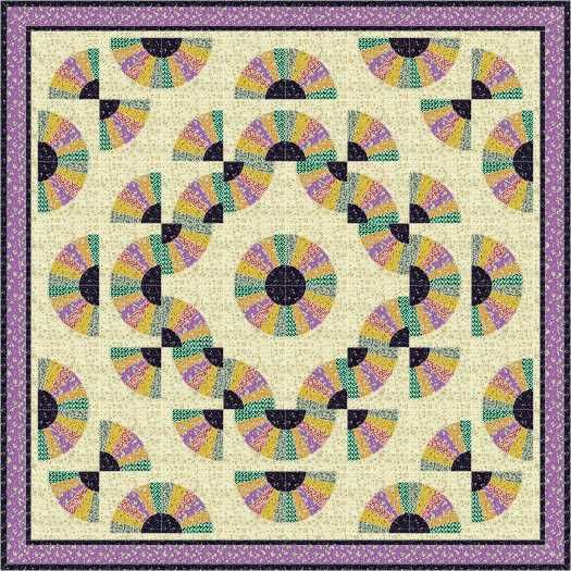 1000 Images About Quilts Fan Designs On Pinterest