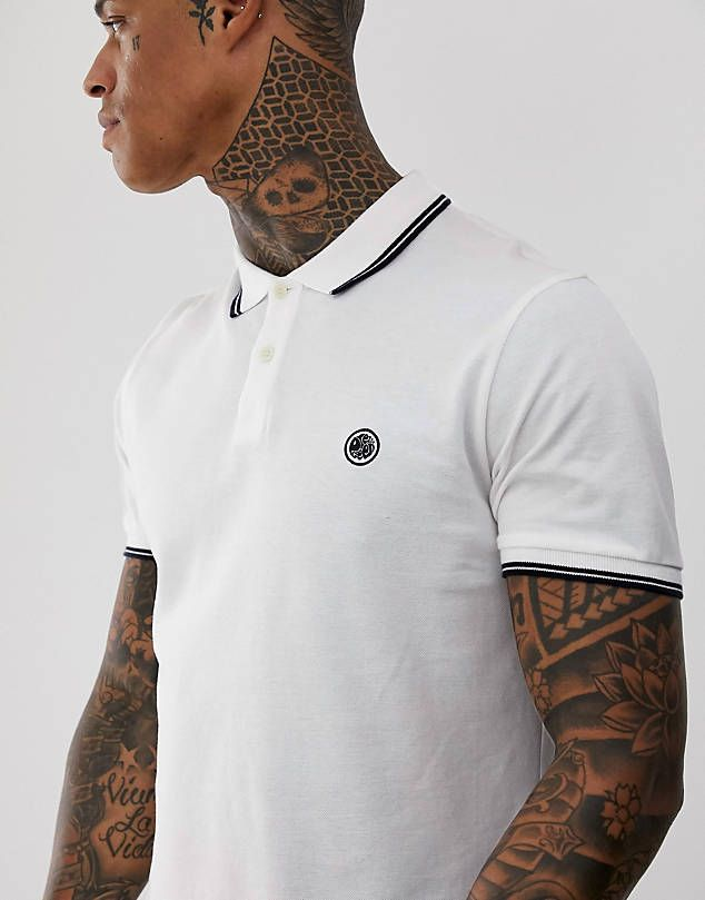f12439a0 00 Nike matchup polo shirt in black 909746-010 $45.00 ASOS DESIGN knitted  revere polo t-shirt in tan $29.00 ASOS DESIGN Plus pique polo shirt with  tipping ...