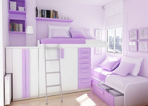 Cool Blue And Purple Bedrooms For Teenage Girls Purple ...